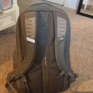The North Face Bags - Grey and teal Women's North Face back pack